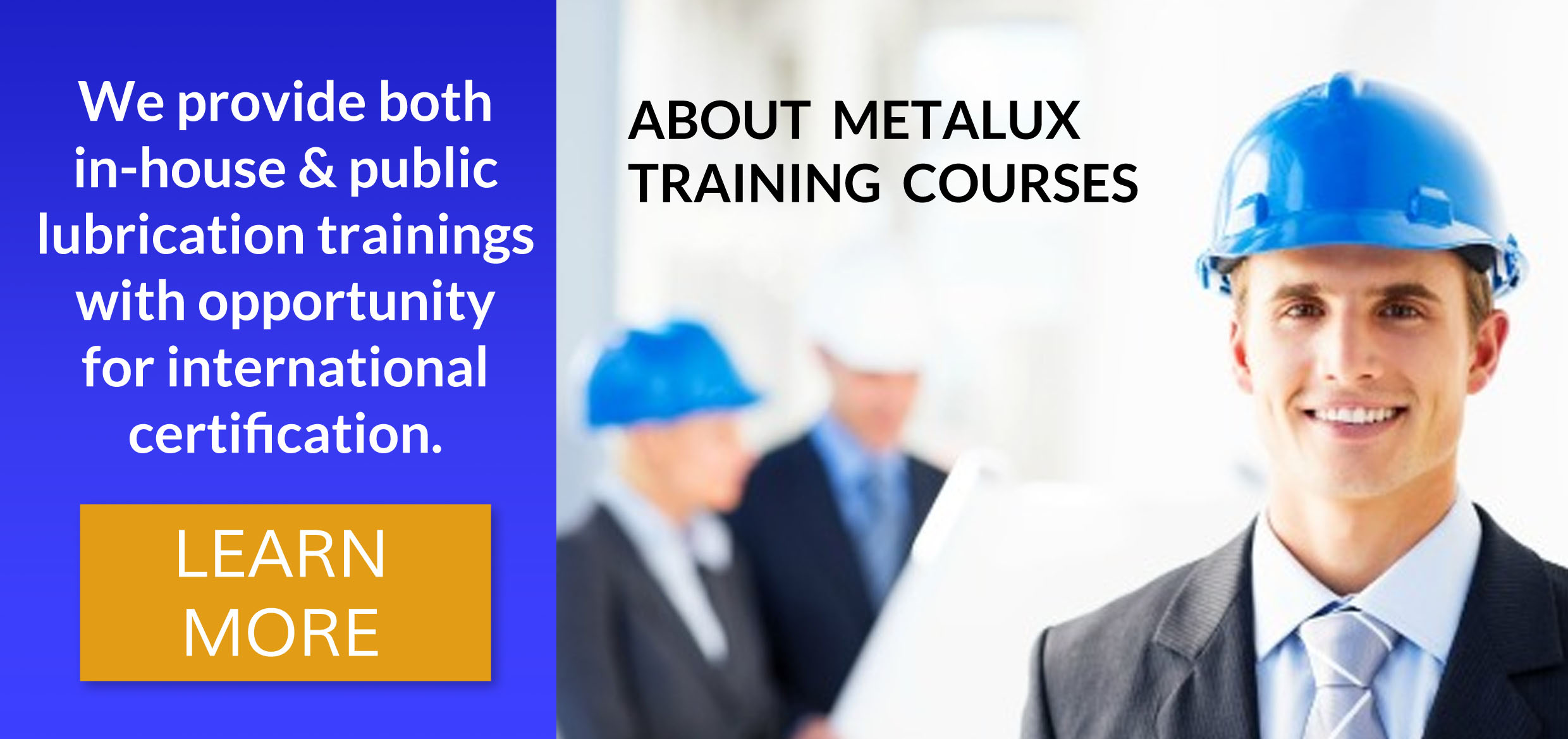 About Metalux Training